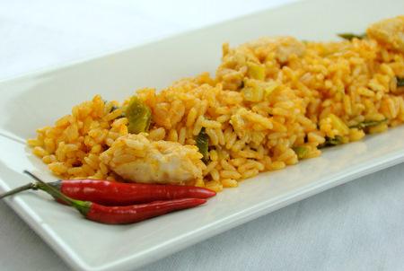 Nasi goreng compleet (kip)